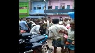 Bihar, People beating police, Tejashwi yadav, CM Nitish kumar