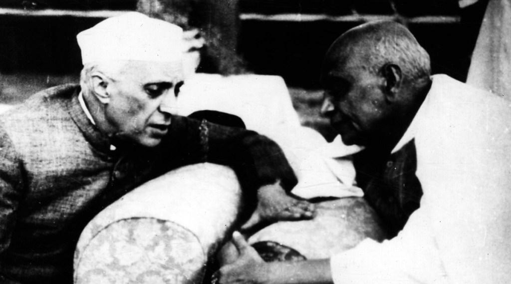 Prime Minister, Pt. Jawaharlal Nehru with Sardar Patel