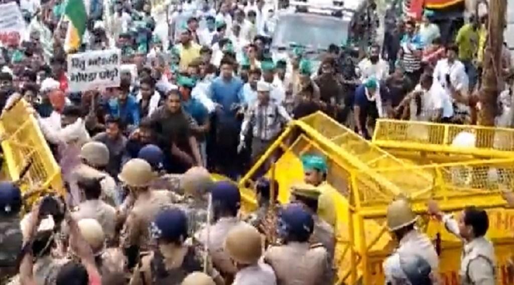farmer Protest Noida, protest against noida authority, bharat bandh