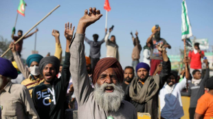 Farmer movement, Economic loss due to farmers, Human Rights Commission, Notice to four states