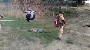 Assam, Assam eviction drive, Darang, Assam Video Viral, Photographer Attack Protester