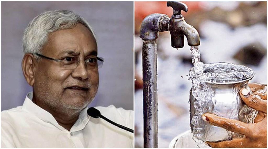 Bihar new, Tap water connections, clean tap water, bihar rural homes, JJM, Jal Jeevan Mission, Patna news, Bihar news, Nitish kumar, current affairs, current affairs news, jansatta
