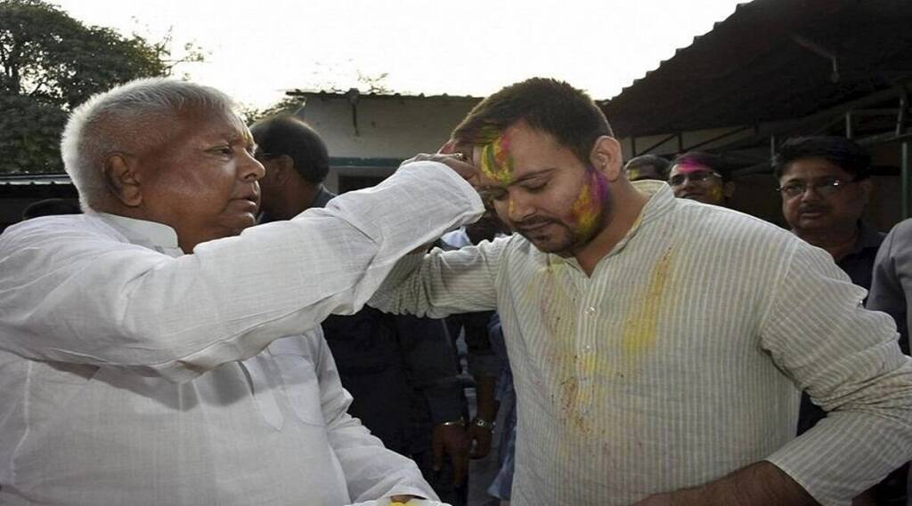 RJD chief lalu Prasad Yadav, tejsawi yadav, bihar politics, RJD, JDU, nitish kumar, jansatta