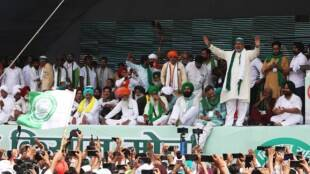 Punya Prasun Bajpai, Kissaan Aandolan, farmers,