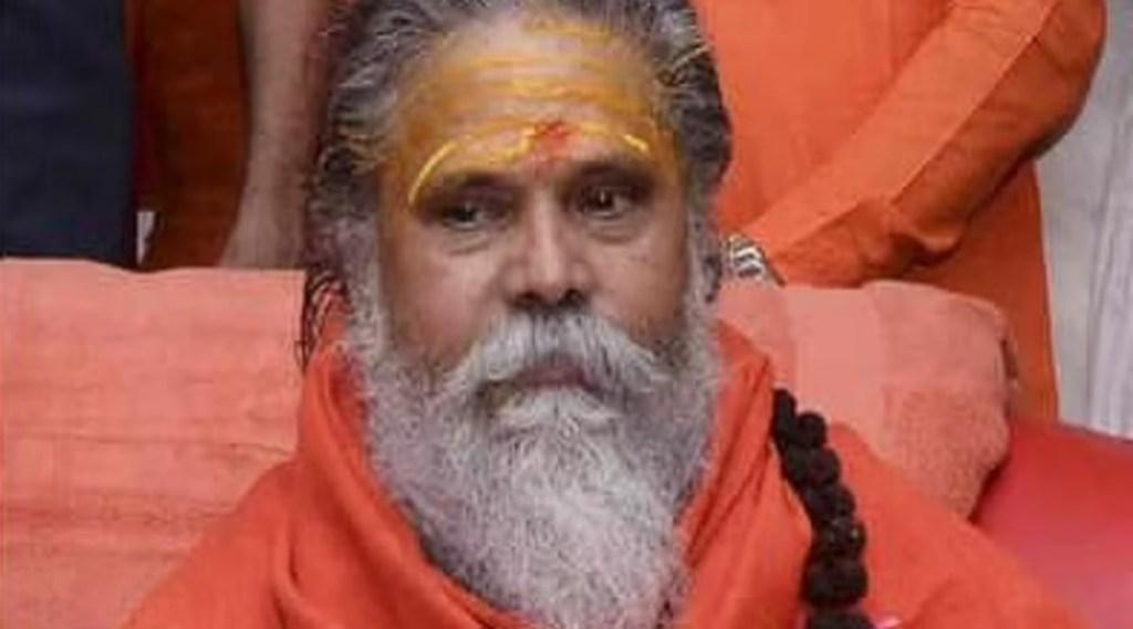 mahant narendra giri, yogi adityanath, abhay dubey