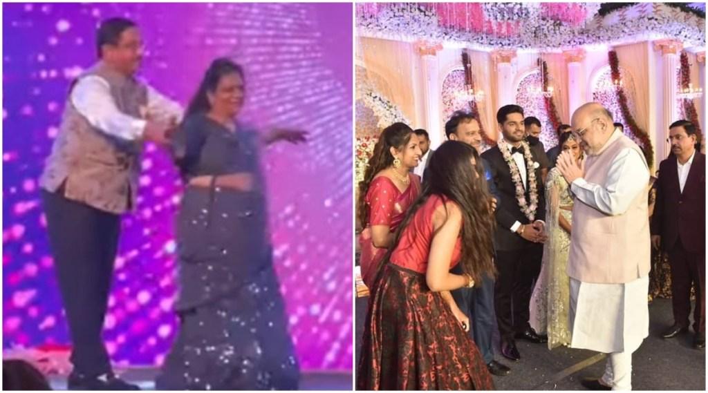 prahlad joshi, prahlad joshi viral video, prahlad joshi dance, prahlad joshi dance at daughter's wedding, prahlad joshi dances at daughter's wedding, viral video, jansatta