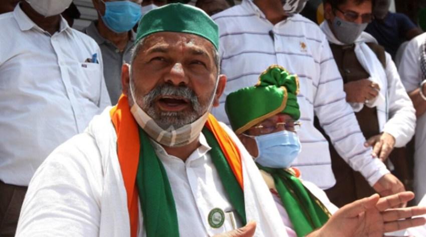 rakesh tikait, farmers protest, bjp