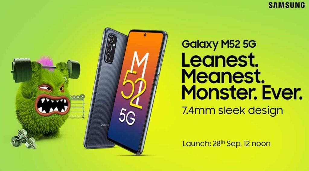 Samsung Galaxy M52 news, Samsung Galaxy M52 launch in india, Samsung Galaxy M52 price in india