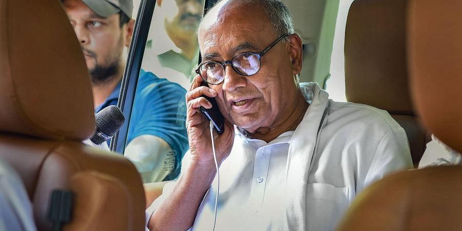 Digvijay Singh Rajiv Gandhi