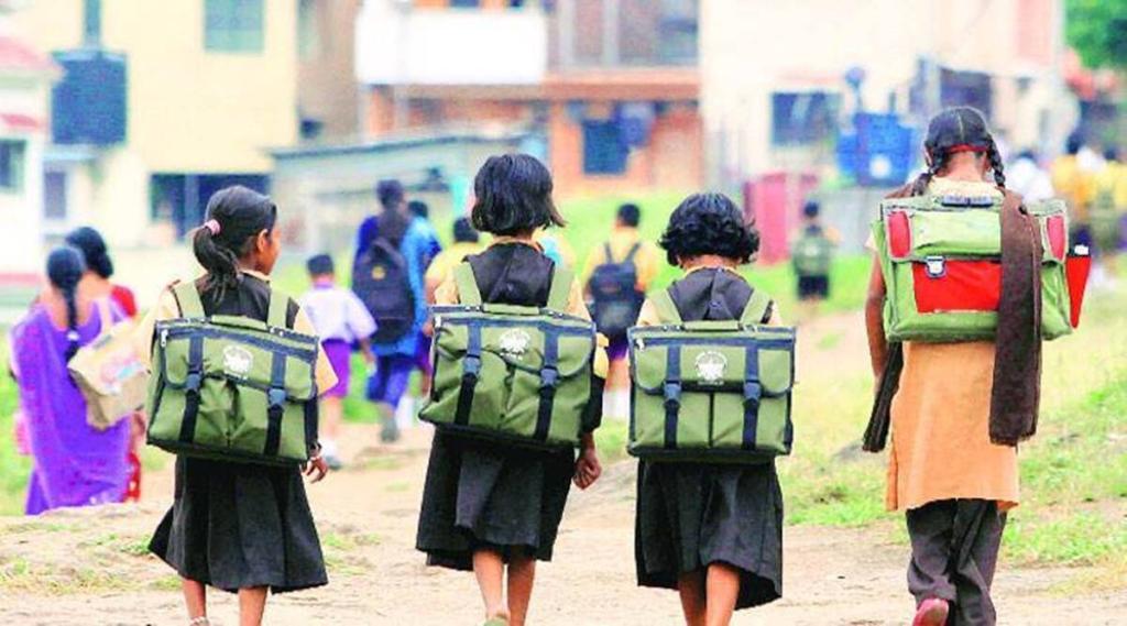 Uttar Pradesh, Mainpuri district, Daudapur Government Primary School, Utensils of SC children, Yogi government