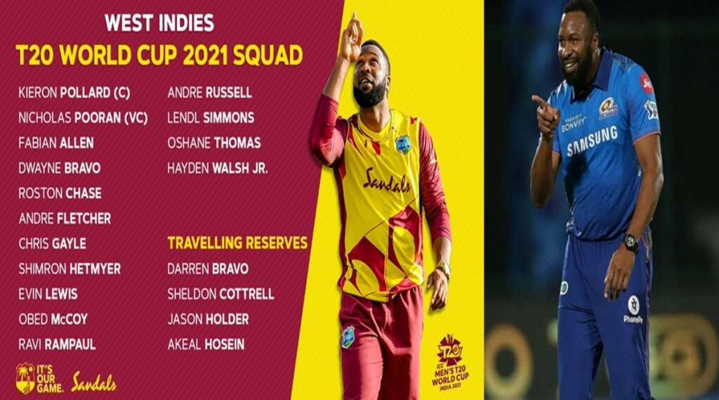 t20-world-cup-team-of-west-indies-has-9-players-from-ipl-captain-keiron-pollard-leads-mumbai-indians-several-times