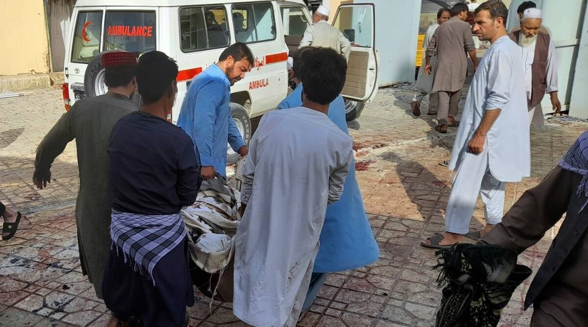 Taliban official said At least 100 dead in Afghan blast