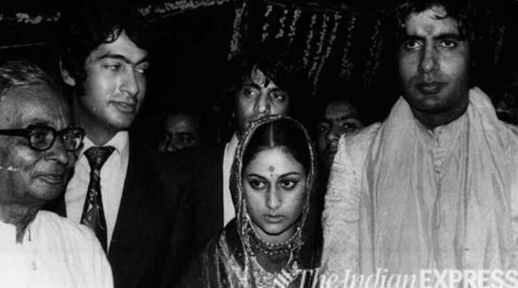 Amitabh Bachchan, Jaya Bhaduri,Teji Bachchan, Harivansh