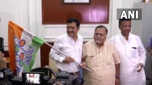 BJP leader Sabyasachi Dutta joined Mamata Banerjees
