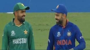 Babar Azam Virat Kohli Toss Ind vs Pak T20 WC