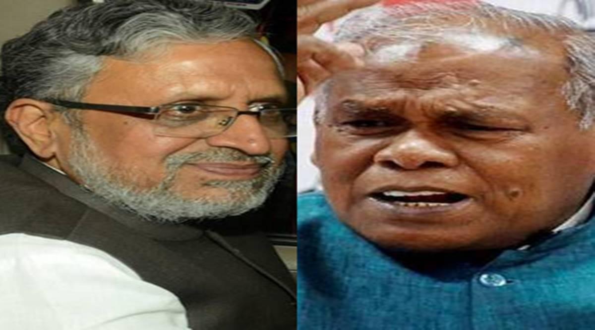 Former cm Jitan Ram Manjhi said Kashmir handed over to Biharis for 15 days Sushil Modi war send them to Pulwama