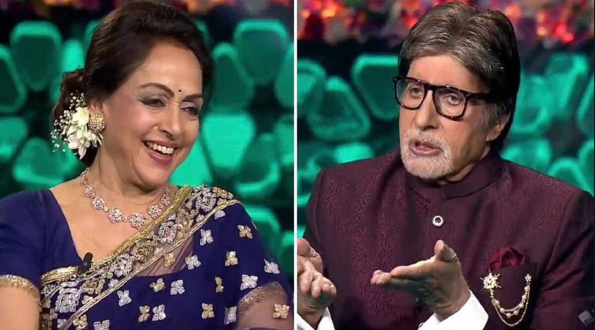 Why do you keep lipstick in the bag if you have gone out with makeup on;  Amitabh Bachchan asked a question to Hema Malini and got such an answer