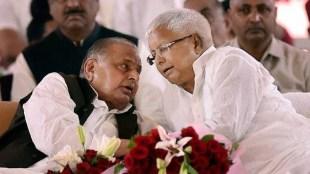 Lalu Prasad Yadav, Mulayam Singh Yadav