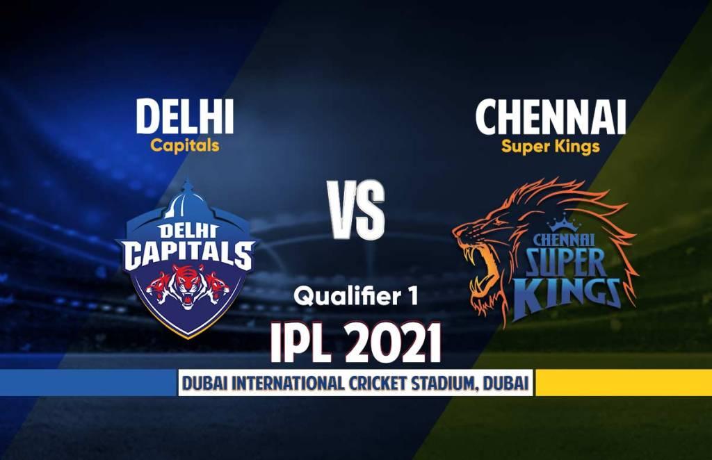 IPL 2021 Qualifier 1 DC vs CSK Live Cricket Streaming