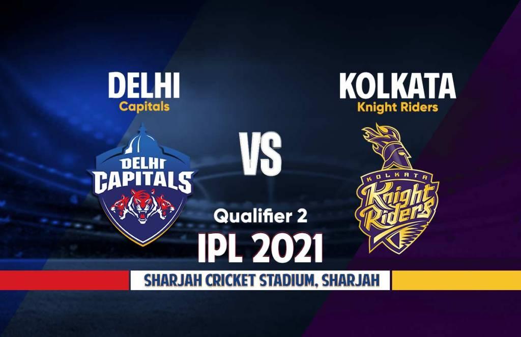 DC Vs KKR Live IPL 2021 Qualifier 2 Match