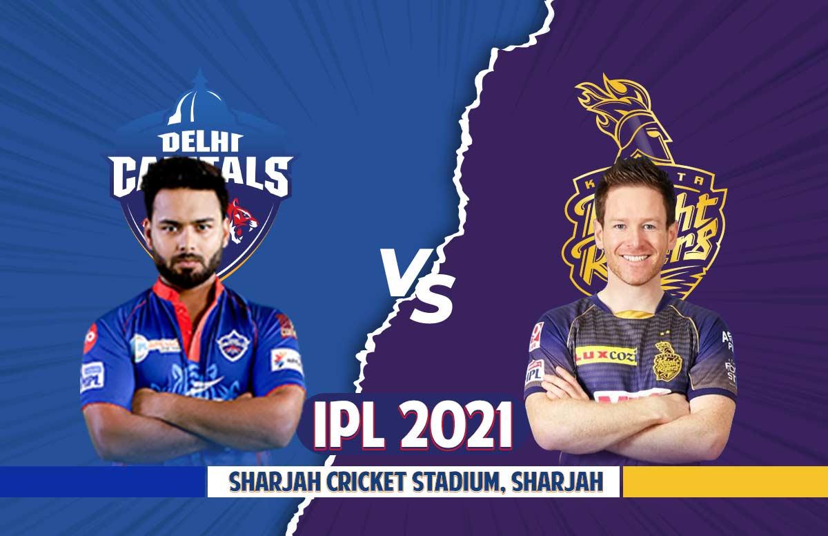 DC vs KKR Dream11 Team Prediction Fantasy Hints IPL 2021 Qualifier 2 Captain Vice Captain Delhi Capitals vs Kolkata Knight Riders Playing 11 Sharjah Live updates