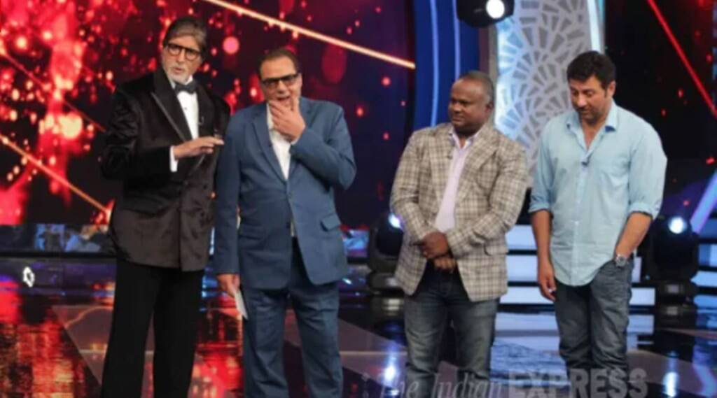 Sunny Deol, Dharmendra, Amitabh Bachchan