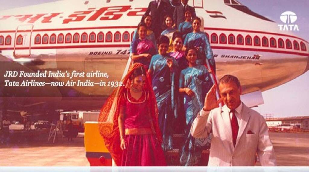 First Indian Airline Tata Airlines