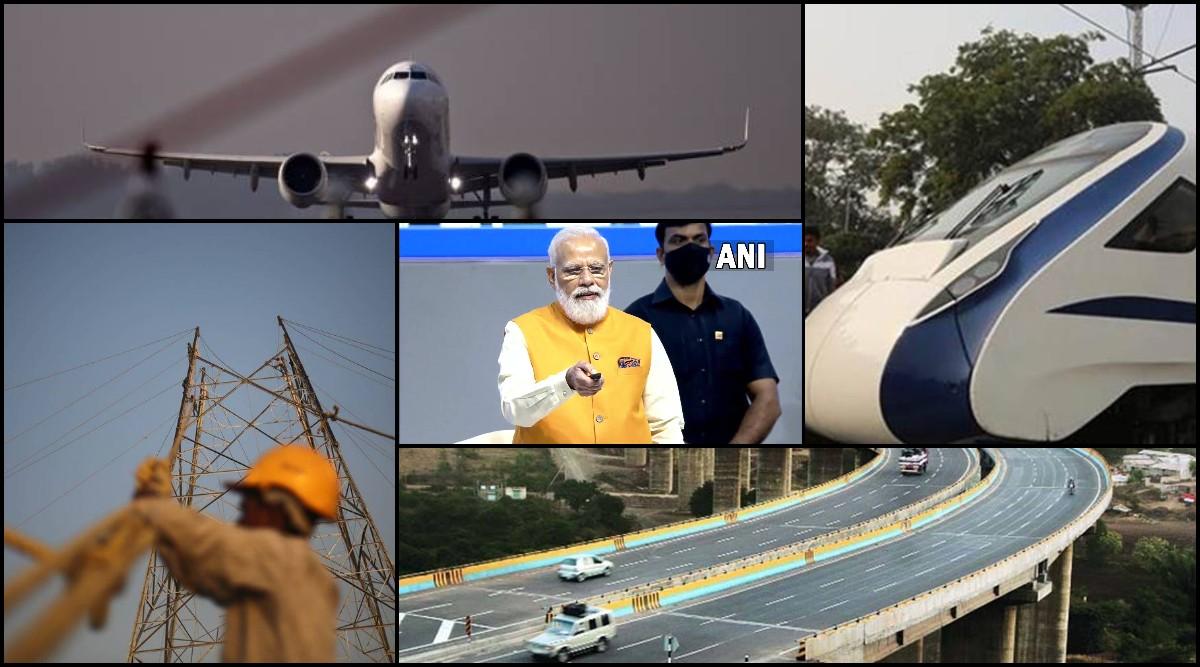 PM Modi launched Gati Shakti Yojana Plan to connect 16 ministries Know benefit