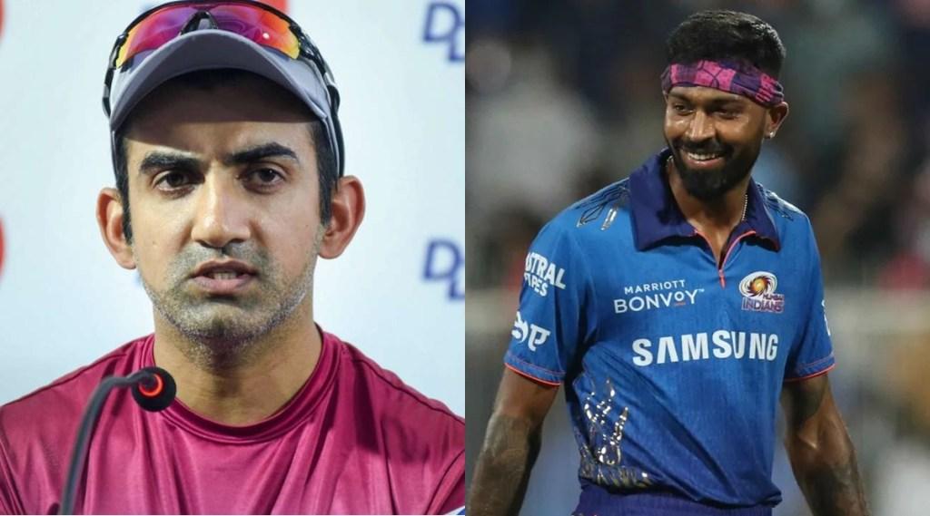 Gautam Gambhir Hardik Pandya T20 World Cup IPL 2021 MI