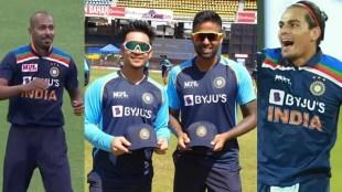 Hardik Pandya Ishan Kishan Suryakumar Yadav Rahul Chahar Bhuvneshwar Kumar T20 World Cup 2021 BCCI Team India