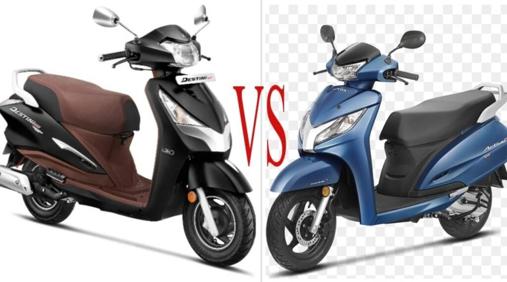 Hero Destini 125 vs Honda Activa 125
