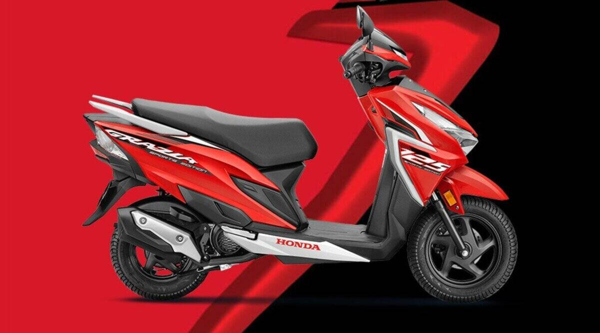 Take home the sporty design and powerful mileage Honda Grazia by paying just 9 thousand, this will be monthly EMI