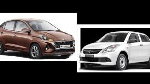 Hyundai Aura vs Maruti Swift Dzire Tour