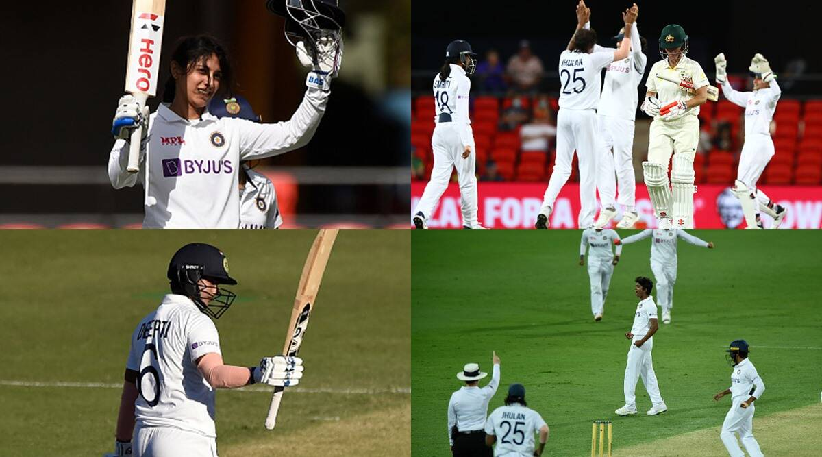 vs-ausw-smriti-mandhana-deepti-sharma-plays-well-with-bat-jhulan-goswami-pooja-vastrakar-bowls-well-to-take-2-wicket-each – INDW vs AUSW: Bowling After Batting Strong performance of India in India too, did this feat for the first time against Australia