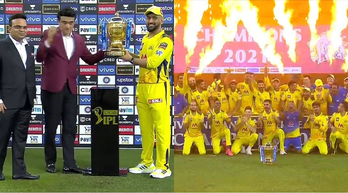 IPL 2021 Final: Chennai Super Kings capture IPL trophy for the fourth time, beat KKR by 27 runs in the final