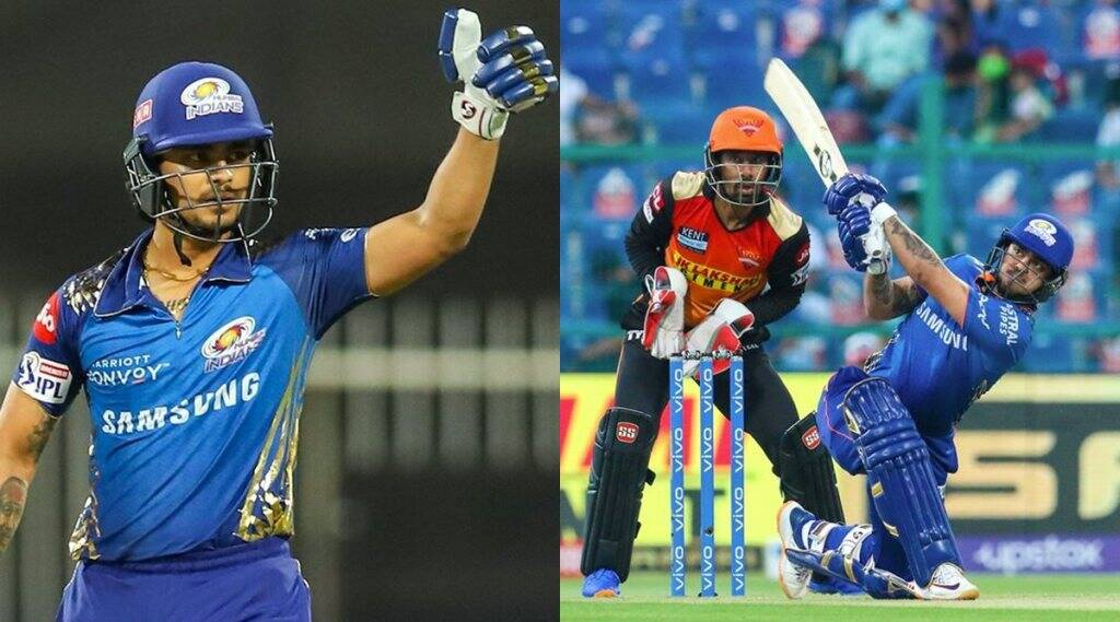 ipl-2021-ishan-kishan-fastest-fifty-by-mumbai-indians-player-also-makes-series-of-records-in-32-ball-84-runs-innings-against-sunrisers-hyderabad