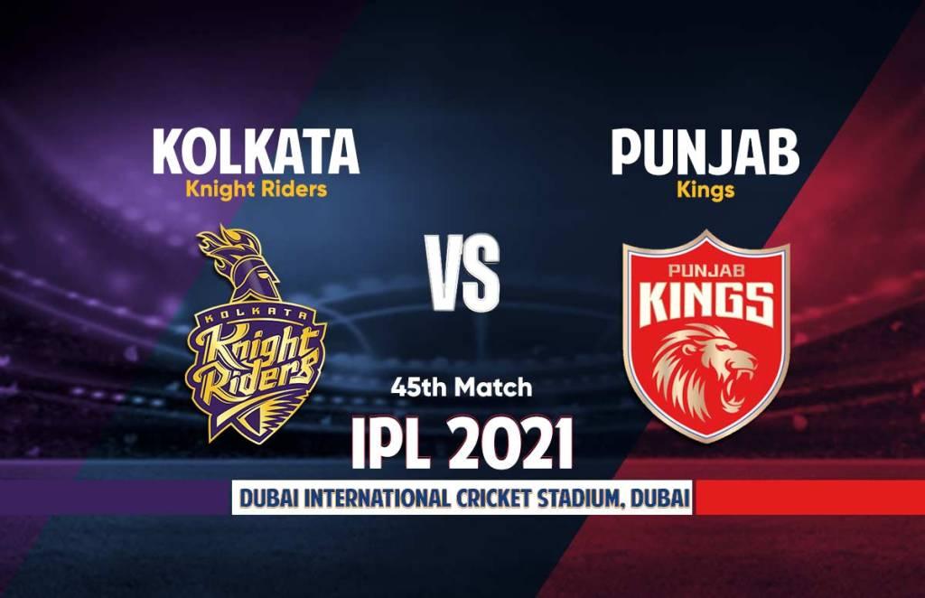 Punjab Kings Vs Kolkata Knight Riders Live Streaming