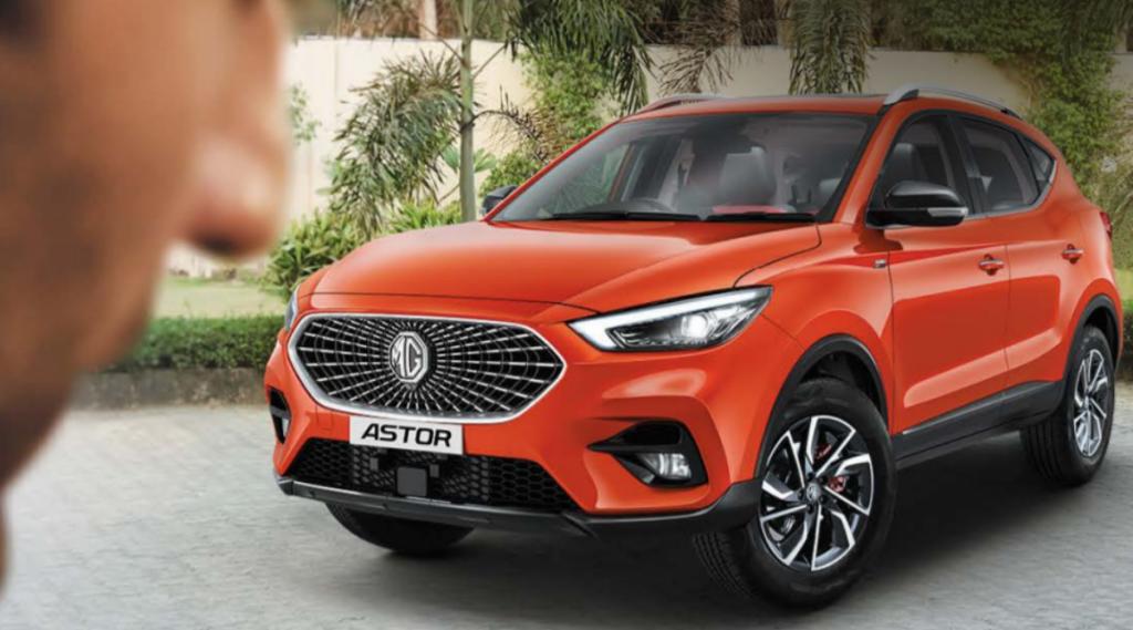 MG Astor, MG Motors India, Tech News