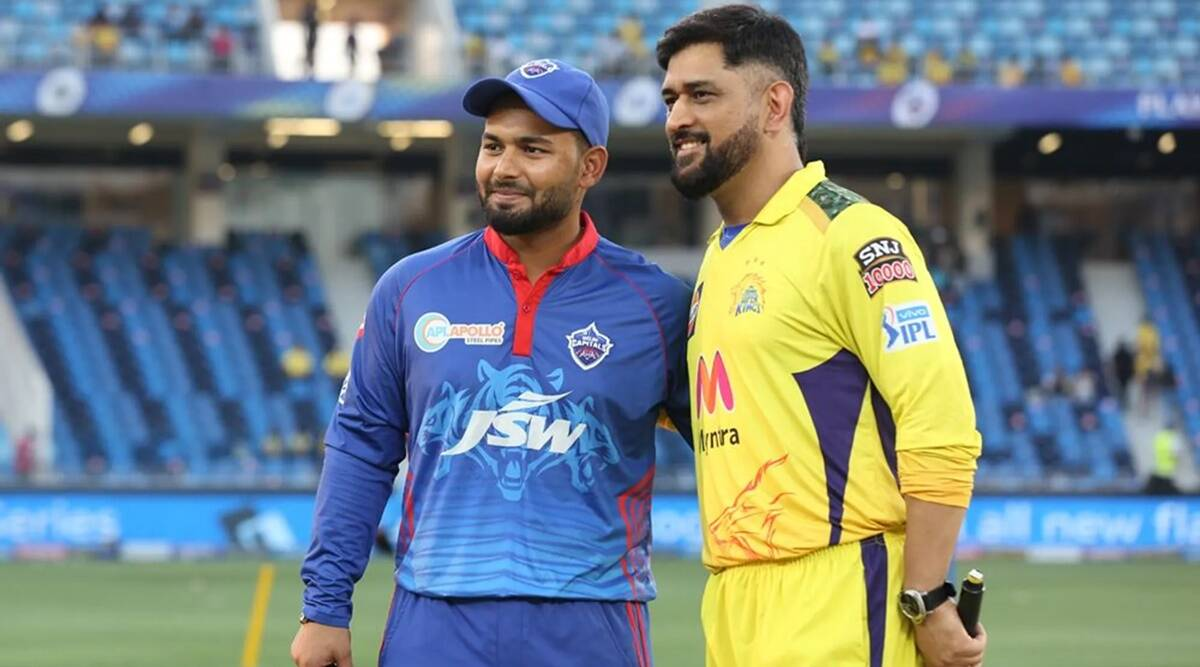 How Rishabh Pant Traped to get MS Dhoni out Delhi Capitals bowler Avesh Khan revealed DC dismissal twice Dhoni before erring in Qualifier 1