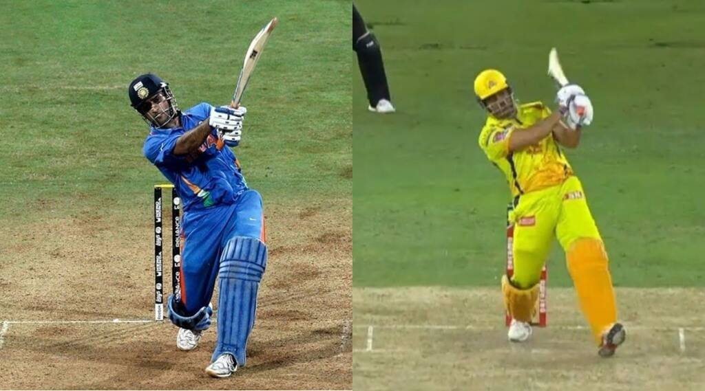 ms-dhoni-last-ball-six-video-for-chennai-super-kings-in-ipl-2021-revived-memories-of-2011-world-cup-also-csk-qualifies-for-playoffs-record-11th-time