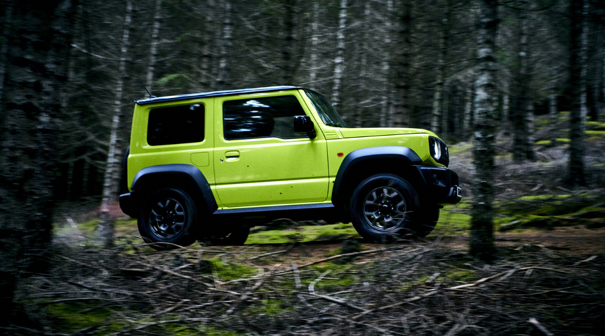 Maruti Suzuki released the teaser of its off-roader car, know – is it Jimny?  Is this the Jimny as Maruti Suzuki brings new teaser of an off roader car