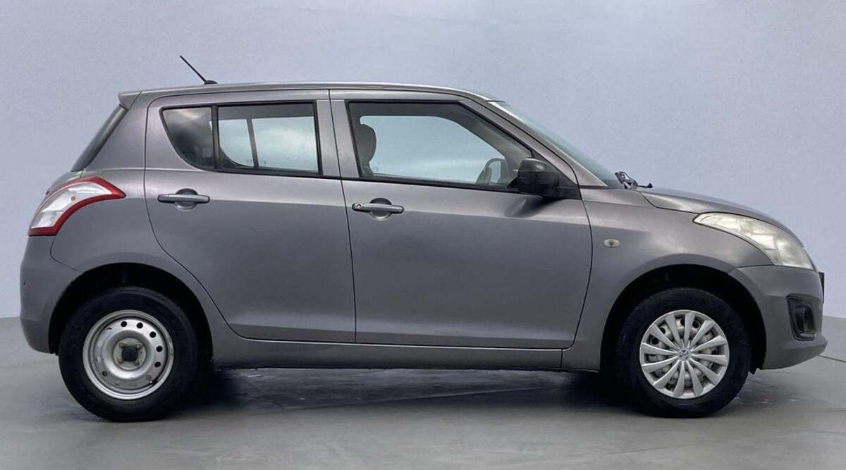 Sporty designed Maruti Swift will be available here for 3.3 lakhs, the company will offer zero down payment loan and money back guarantee plan