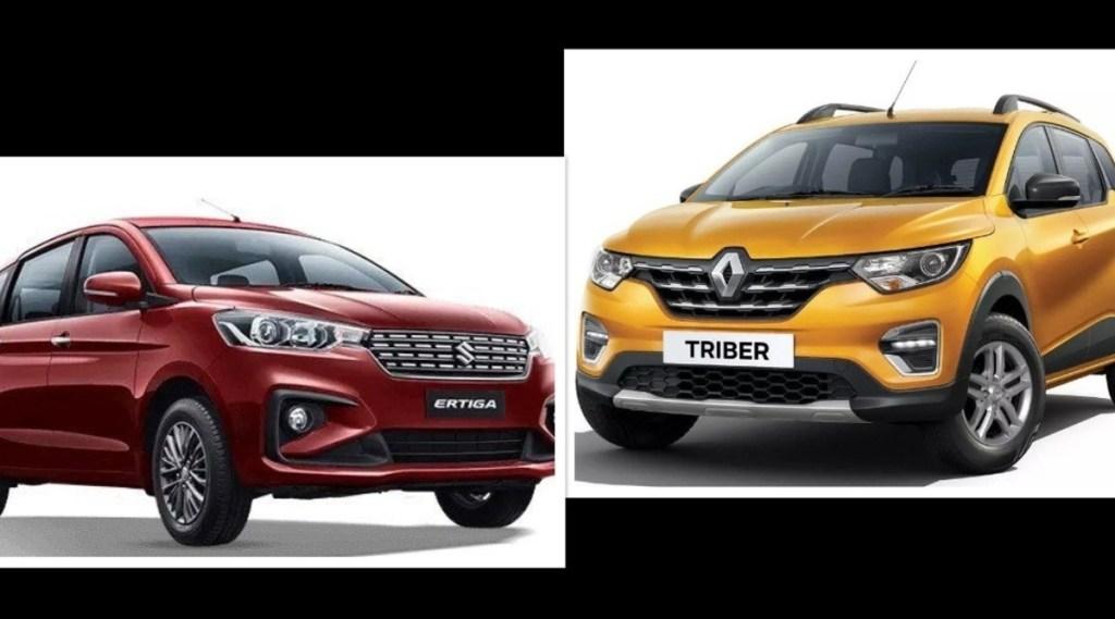 Maruti Ertiga vs Renault Triber