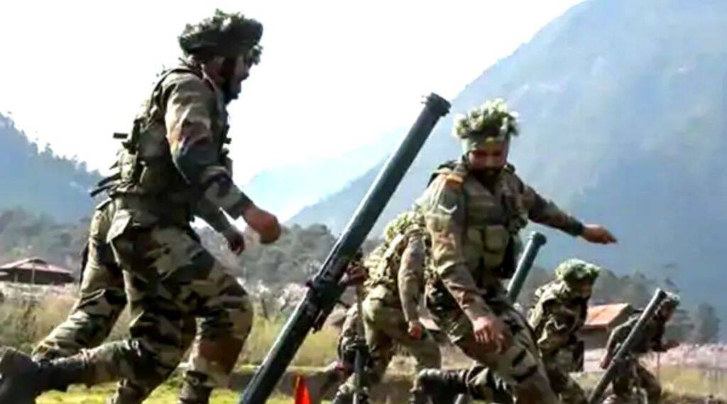 Indian Army,LOC, China