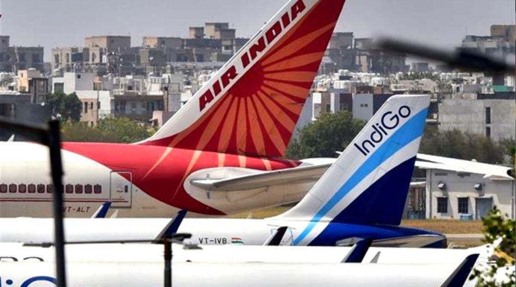 Indian Airlines, Air India, Indigo