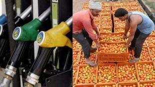 petrol , diesel price,Tomato price