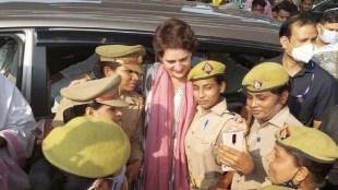 Priyanka Gandhi Selfie Women Police