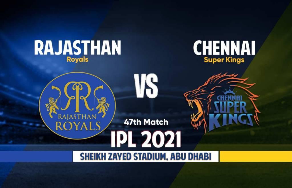 Chennai Super Kings Vs Rajasthan Royals Live Streaming