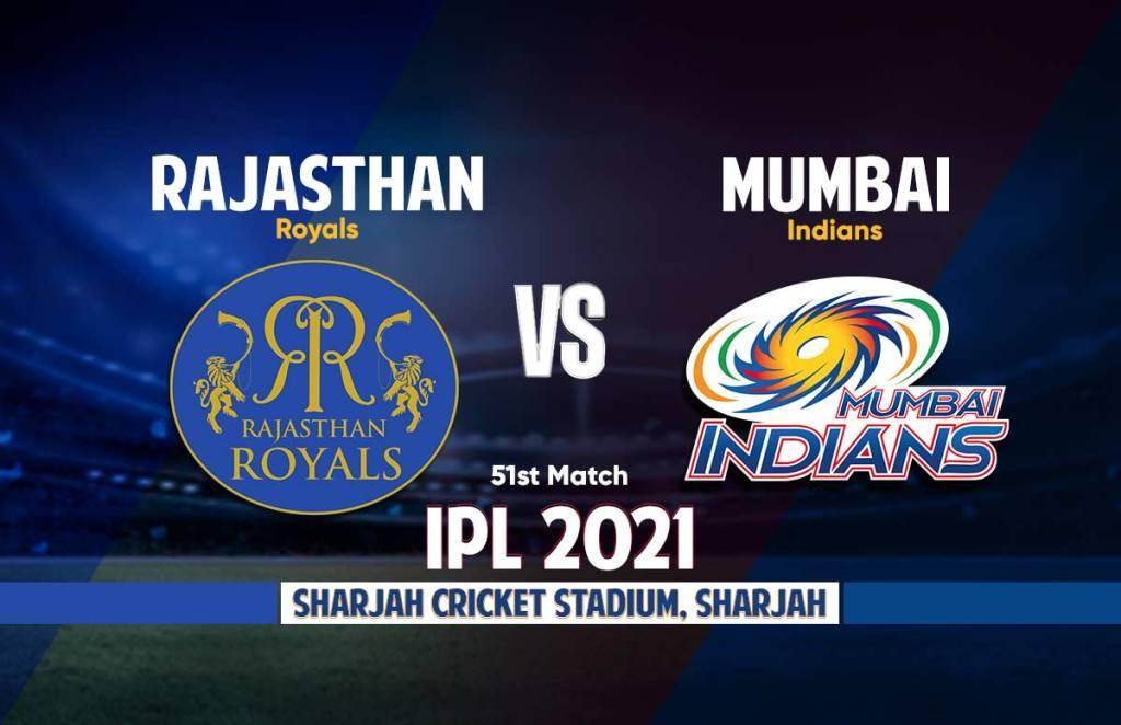 Mumbai Indians Vs Rajasthan Royals Live Streaming