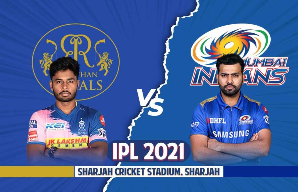 IPL 2021: RR Vs MI Dream 11 | Playing 11